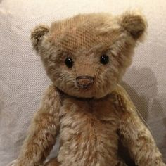 Mr Whiskers by teddybearswednesday on Etsy
