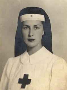 vintage photos of women in nurses hats - Google Search