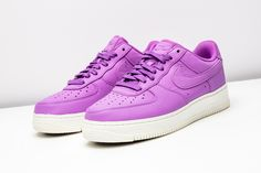 With spring approaching, add some color to your sneaker arsenal with this NikeLab Air Force 1 Low.  http://www.stadiumgoods.com/nikelab-air-force-1-low-purple-stardust-905618-500  #Nike