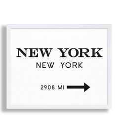 New York City Print Typography Art Print Gift for Him Fashion Art NYC Art Prada Marfa Sign Like in Gossip Girl Print Black and White Print von MetropolisPrints auf Etsy https://www.etsy.com/de/listing/228900510/new-york-city-print-typography-art-print