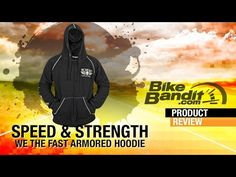 Speed and Strength We the Fast Armored Motorcycle Hoodie at BikeBandit.com - YouTube