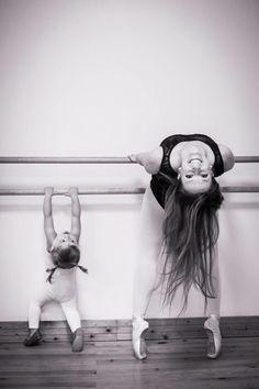 Resultado de imagen para mother daughter ballerina