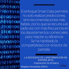 Smart data permitirá