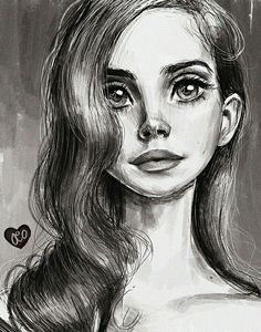 Lana Del Rey #LDR #art by Olivia (Duchess365) ♡♡♡