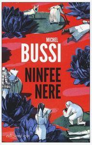 """Michel Bussi """"Ninfee nere"""" A Giverny in Normandia, il villaggio dove ha vissuto e dipinto il grande pittore impressionista Claude Monet, una serie di omicidi rompe la calma della località turistica. L'indagine dell'ispettore Sérénac ci conduce a contatto con tre donne."""