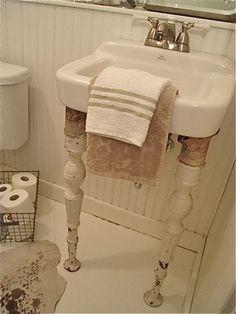 Ordinary sink - turned extrordinary!