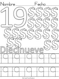Resultado de imagen para fichas de numeros del 10 al 20 para imprimir