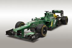 Caterham CT03 Launch-2013 F1