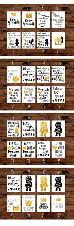 Where The Wild Things Are Printable Birthday Party Package.