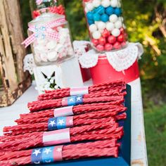 craft fireworks painting happiness is homemade see more 4th of july ...