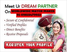 ELITE RAMGARHIA DHIMAN MATRIMONIAL SERVICES 91-09815479922 INDIA & ABROAD: HIGH STATUS RAMGARHIA DHIMAN MARRIAGE BEUREAU SERV...