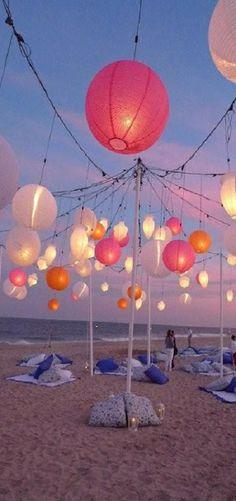 beach party...