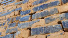 Blue Tiles in Uruk (N.Irak)