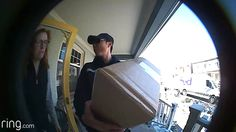 """""My wife was about to reject a FedEx delivery that I was expecting but I was able to interject (remotely) thanks to Ring Video Doorbell!"" - Craig (Toronto, Ontario)"