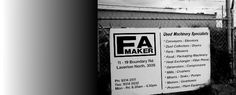 Second hand machinery, second hand process machinery | F.A Maker