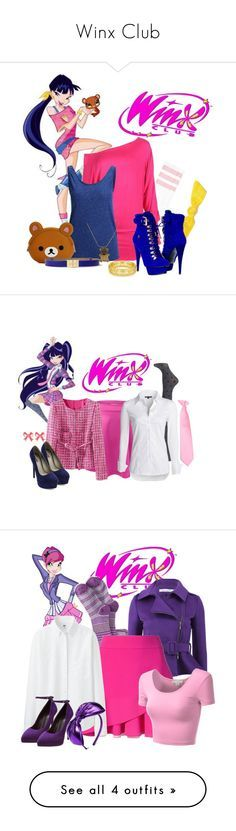 """""""Winx Club"""" by sweetsgirl ❤ liked on Polyvore featuring Emi-Jay, SELECTED, Paolo Shoes, CHARLES & KEITH, Erickson Beamon, Tiffany & Co., women's clothing, women's fashion, women and female"""