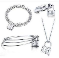 Tiffany Jewelry Sets Silver Chains This Tiffany Jewelry Product Features: Category:Tiffany & Co Sets Material: Sterling Silver