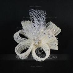 Headpieces - $9.99 - Gorgeous Tulle/Net Fascinators (042048126) http://jjshouse.com/Gorgeous-Tulle-Net-Fascinators-042048126-g48126?snsref=pt&utm_content=pt