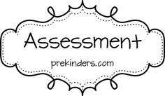 Assessment Idea Pages for Preschool and Kindergarten Teachers