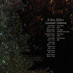 Image of Aidan Baker - Liminoid/Lifeforms Cards Against Humanity, Image