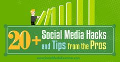 20+ Social Media Hacks and Tips From the Pros via @smexaminer