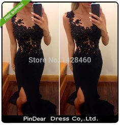 http://www.aliexpress.com/store/product/2015-Sexy-Side-Slit-Special-Occasion-Evening-Gown-Mermaid-Black-Lace-Prom-Dresses-2015-Real-Picture/1428460_32300133418.html