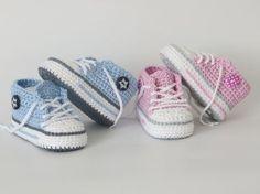 Die Beste Anleitung Für Baby Chucks Zum Häkeln Sehr Gute