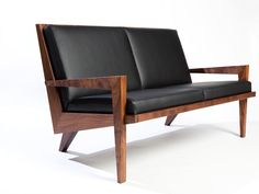 Boomerang Chair is designed by Kurt Dexel founder of Dexel Crafted