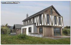 Architekt Maciej Olczak - projekt domu z murem pruskim