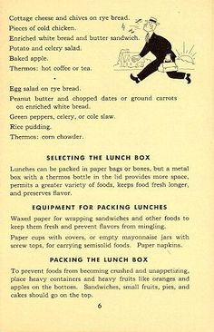 The Lunch Box Goes To Work For Victory - page 6 Retro Recipes, Old Recipes, Vintage Recipes, Frugal Meals, Kids Meals, War Recipe, Wartime Recipes, Food Rations, Depression Era Recipes
