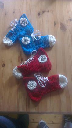 Crochet Converse Socks
