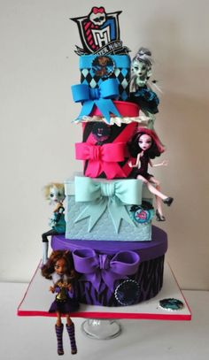 #monsterhighcake