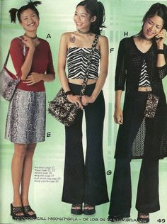 Flashback: Girlfriends L. - Flashback: Girlfriends L. – Tutus And Tiny Hats Source by isibellee - 90s Teen Fashion, Early 2000s Fashion, Look Fashion, 1990s Fashion Outfits, Fashion In The 90s, 1990s Outfit, Korean Fashion, Spring Fashion, 80s Womens Fashion