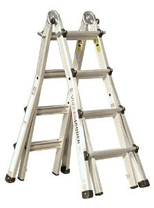 Multi-use Folding Ladder Aluminium Ladder, Stair Ladder, Folding Ladder, Best Ladder, Household Chores
