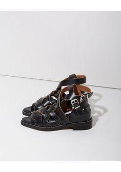 Acne Studios Lenna Woven Sandals
