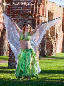 Foto imago vere Fotografie Eman Zaki Designer Kostüm Afraa Falak Bauchtanz Kloster Eldena Bauchtanzkostüm Isis Wings Transparent