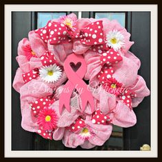Breast Cancer Survivor Wreath, BR146