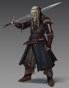 ArtStation - Sword of the North, Alex Chen
