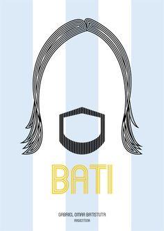 Sixpointer   BATI  Gabriel Omar Batistuta   ARGENTINA ...