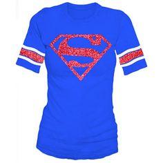 Juniors Superman Graphic Hockey Tee