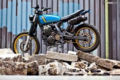 Honda NX650 by Muff Customs