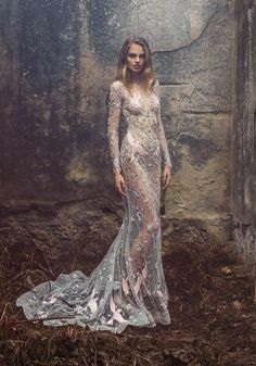2015-16 SS Couture | Paolo Sebastian - The embellishment and embroidery is breathtaking!