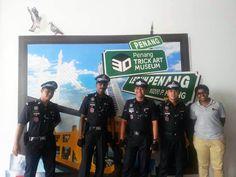 Tourist Police @ Penang 3D Trick Art Museum
