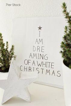 Leinwand White Christmas