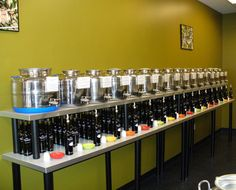 The Olive Oil Experience - Over 50 extra virgin olive oils, balsamic vinegars and gourmet oils from all over the world!