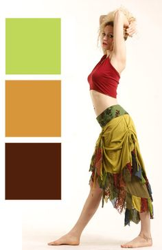 Psy trance HIGH-FRONT RAGGED BURLESQUE PIXIE STEAMPUNK WRAP SKIRT 8 10 12 14 16   eBay