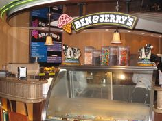Ben & Jerry's on the Enchantment Of The Seas