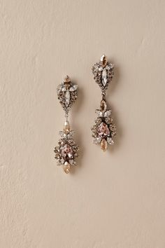 La Rosa Earrings from @BHLDN