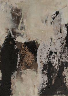 Abstrakte Kunst von Iris Rickart / Unikatbild 220 / Mischtechnik