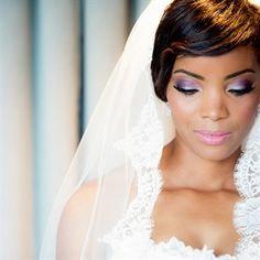 African American Wedding Makeup | african-american wedding